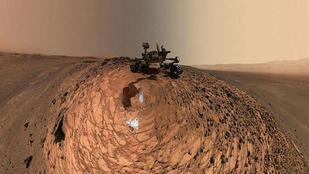 Semmi, csak egy szelfi a Marsról