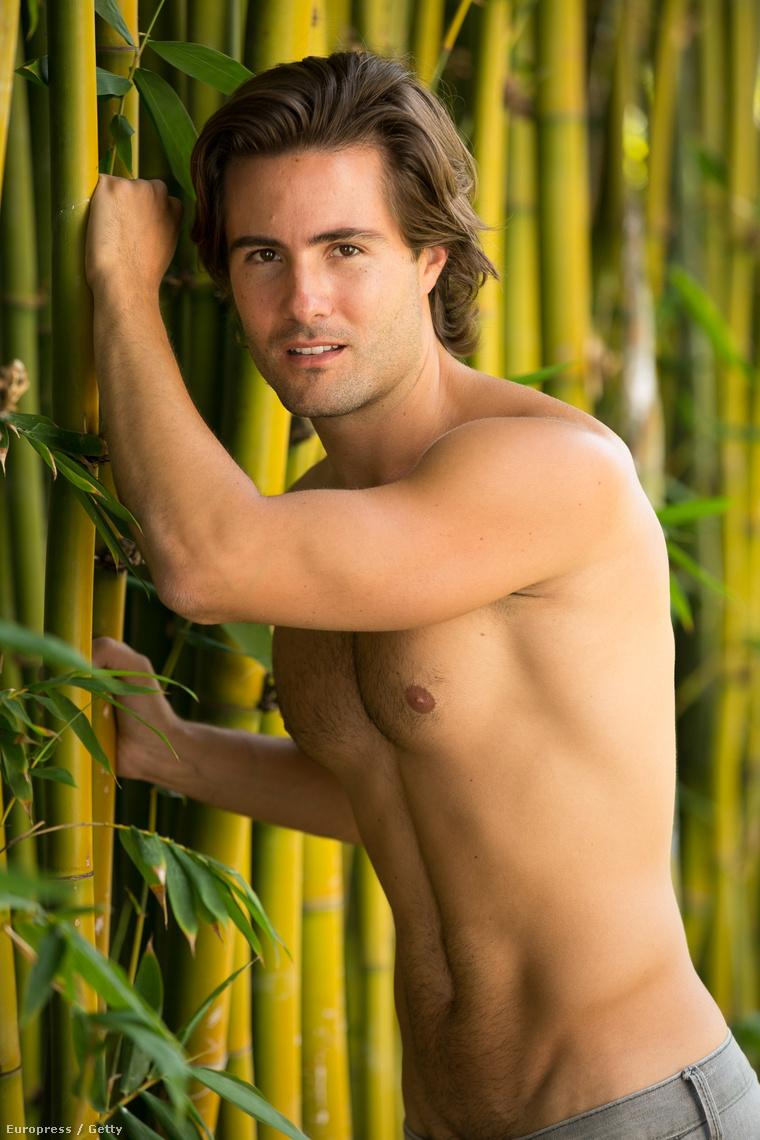 Bambusznakdőlés csak úgy lezseren: Paul Vandervort 2015-ben pózolgat
