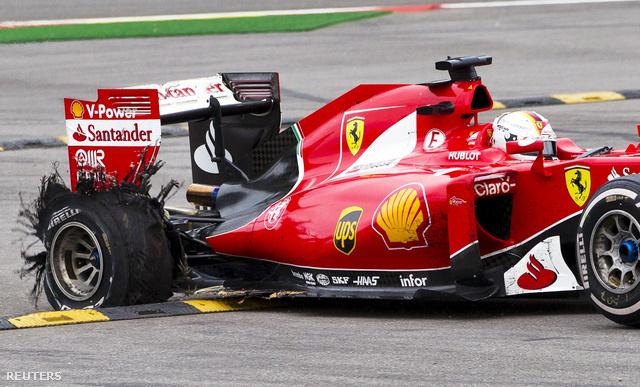 Vettel defektje vasárnap, Spában, a Belga GP-n
