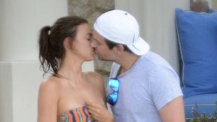 Irina Shayk és Bradley Cooper képtelenek elengedni egymás nyelvét
