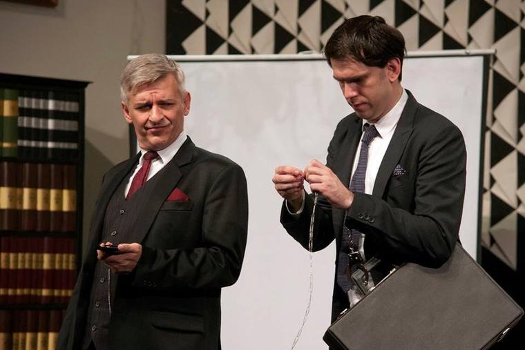 Igenis, miniszterelnök úr! Kultúrbrigád-Átrium Film Színház (fotó: Dudás Ernő)