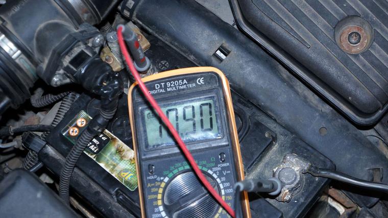 Az akkumulátor nem túl acélos