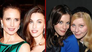 Ezeknek a celebeknek még a lányuk is ugyanúgy néz ki