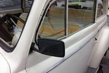 A jó öreg Trabant-tükör