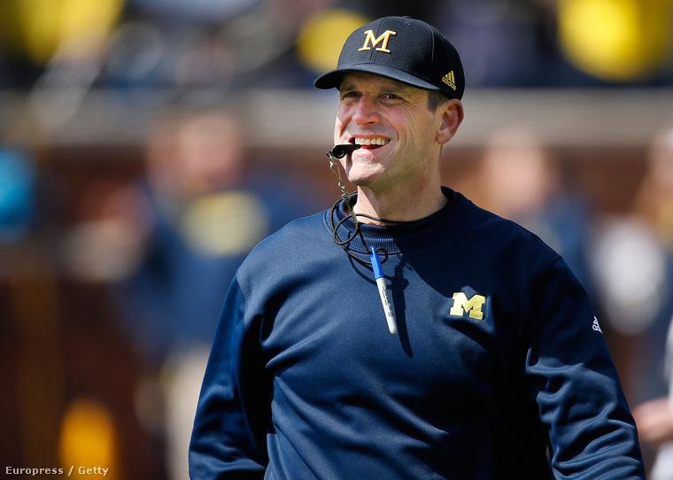Jim Harbaugh vidám időket hozhat Michiganbe