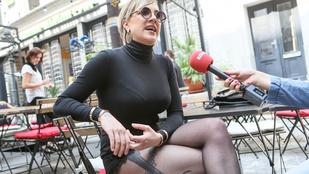 Tóth Gabi a világ legrövidebb picsagatyájában mutatta meg hosszú lábait