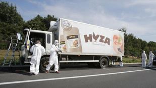 Négy embert csuktak le a halottakkal teli teherautó miatt