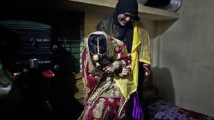 Megdöbbentő fotók 13-15 éves bangladesi lányok esküvőiről