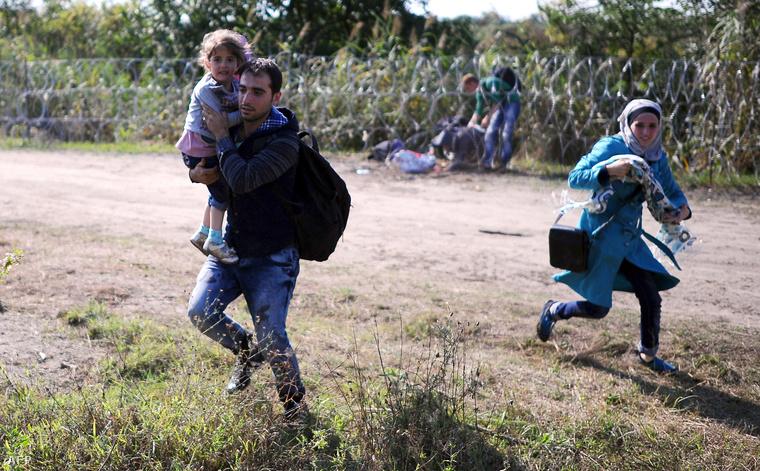 Az illegális határátlépés...