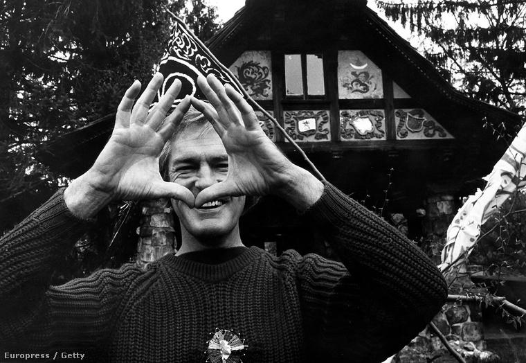Timothy Leary Millbrookban, 1969.