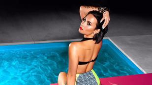 Lehet, hogy photoshop, de Demi Lovato feneke akkor is csodás