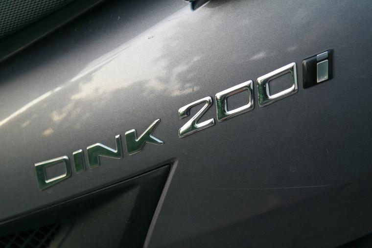 Ez a 200 valójában csak 175 Galéria: Vettem egy Kymco Dinket (22 kép)