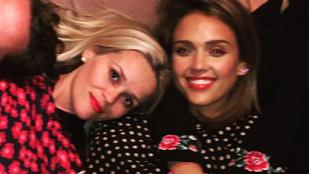 Jessica Alba és Reese Witherspoon közös fotója a nap cukija