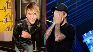 Elbőgte magát a színpadon a leszbikus lánynak kinéző Justin Bieber