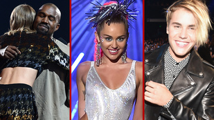 Cicaharc és brutális bejelentés is volt az idei MTV VMA-n