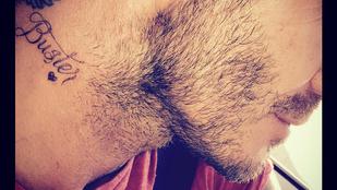 David Beckham újabb tetováláson mutatta meg, mennyire imádja a családját
