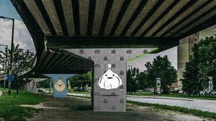 Nem lesznek fokhagymák az Árpád híd óbudai tartóoszlopain