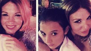 Liptai Claudia lánya pénzt szed az anyukájától csúnya beszédért
