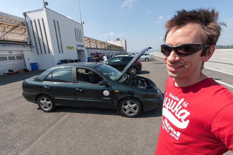 Egy nyílt nap a Hungaroringen mindig ünnep, mindegy, milyen autóval megy ki az ember