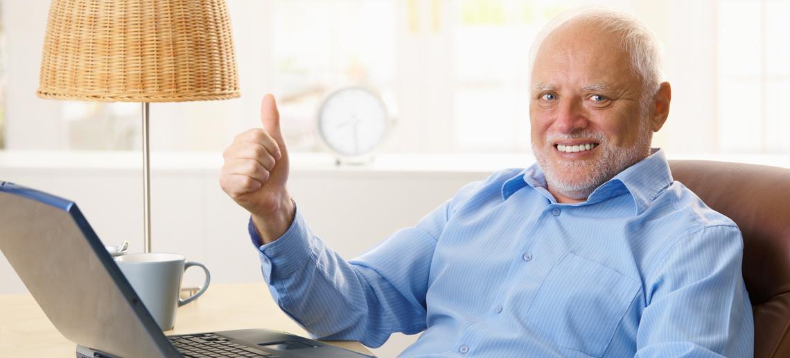 öreg ember csatlakozik társkereső hirdetések a YouTube-on