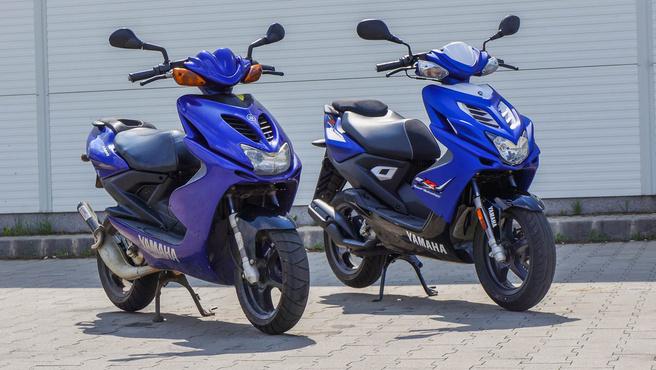 Yamaha Aeroxok egymás között