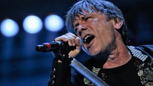 Puncinyalás miatt lett rákos az Iron Maiden énekese