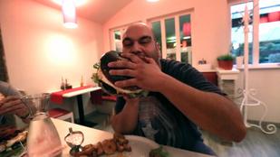 Nem szereti a hamburgert, de megevett 2 és fél kilót