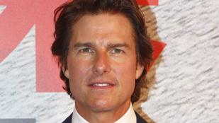 Csak fürkészve lehet észlelni Tom Cruiseon az öregedés jeleit