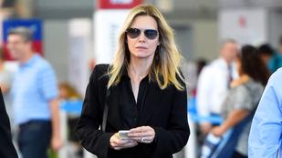 Michelle Pfeiffer gondterhelt, de így is szép