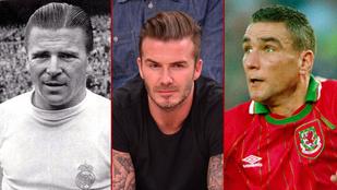 Öt férfi, aki megelőzte David Beckhamet a filmvásznon