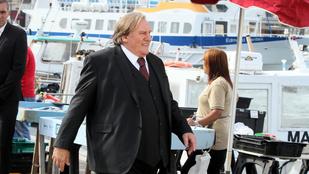 Gerard Depardieu gömbbé változott