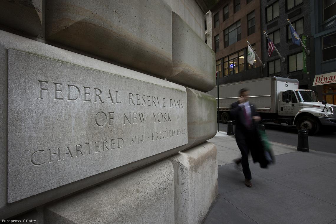A FED New york-i épülete