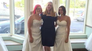 Menyasszonyi ruháért hagyták magukat szívatni
