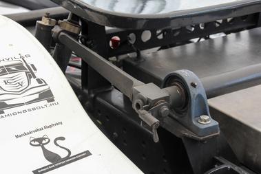A versenykamionok stabilizátora több fokozatban állítható