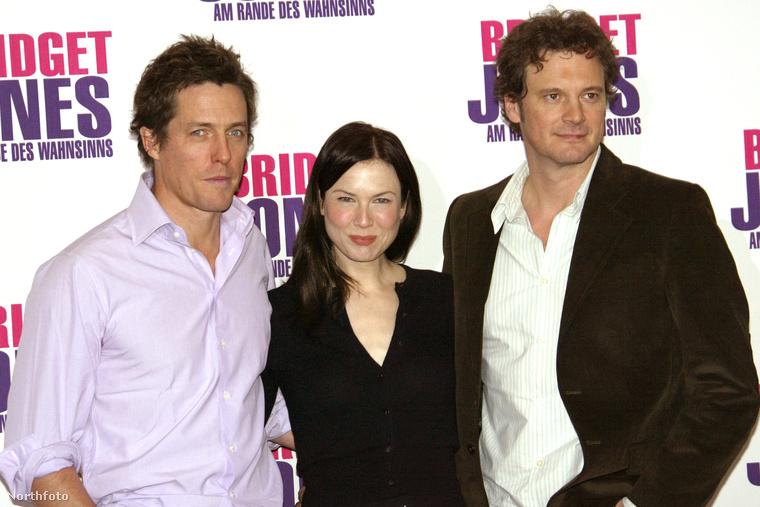 A 2004-es premieren: Hugh Grant, Renee Zellweger, Colin Firth