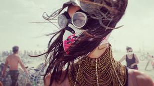 Ilyen volt Hódosi Anita a világ legbetegebb sivatagi fesztiválján