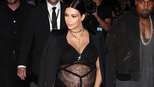 Kim Kardashian terhesruhái egyre durvábbak