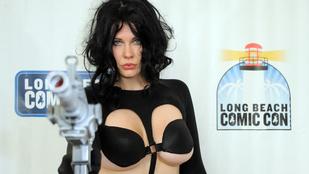 A ribancos színésznő ismét lecsapott a retinákra