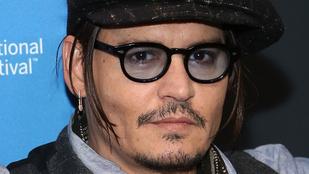 Johnny Depp felett tényleg eljárt az idő