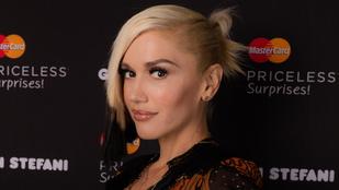 Van valami szokatlan Gwen Stefani arcában, de mi az?