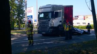 Lengyel kamionos: nem láttam a gyalogosokat