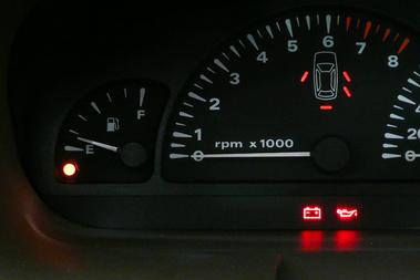 Ennyi benzin volt benne - amikor majd megismétlem a mérést, ugyanennyivel kell ráállni