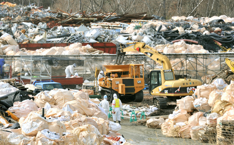 258.300 köbméter szennyezett hulladékot tárolnak.