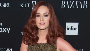 Katy Perry dögös vörösre váltott