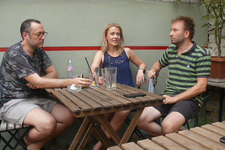 Ördög Tamás, Balsai Móni és Bánki Gergely