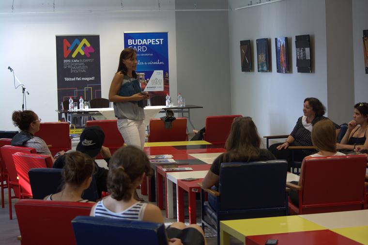 Monostori Diána, a BFTK marketing divíziójának vezetője