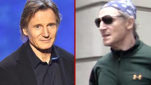Liam Neeson egyre aggasztóbban néz ki