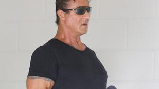 Stallone izmai a levegőt is szétfeszítik
