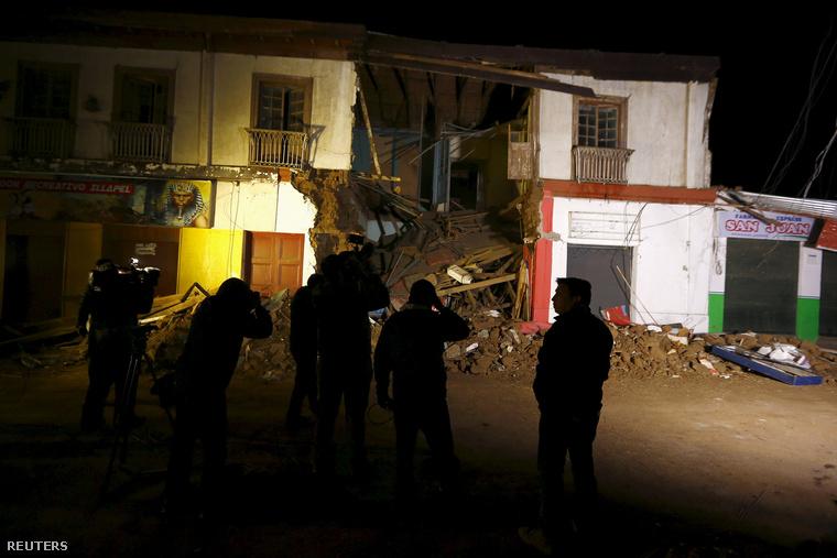 Földrengés Illapelben