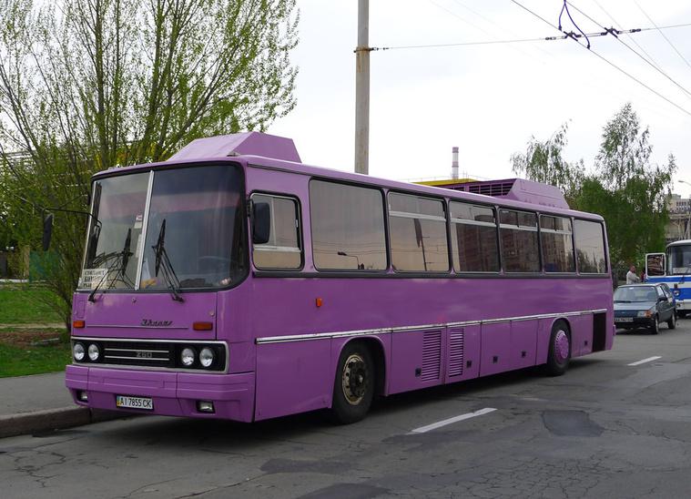 Az egyik leghíresebb Ikarus a Honecker busz, jelenleg Ukrajnában dolgozik (fotó: fotobus.msk.ru)